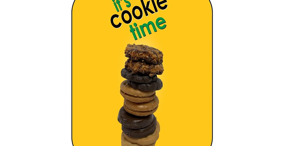 Cookie Time - Stacked