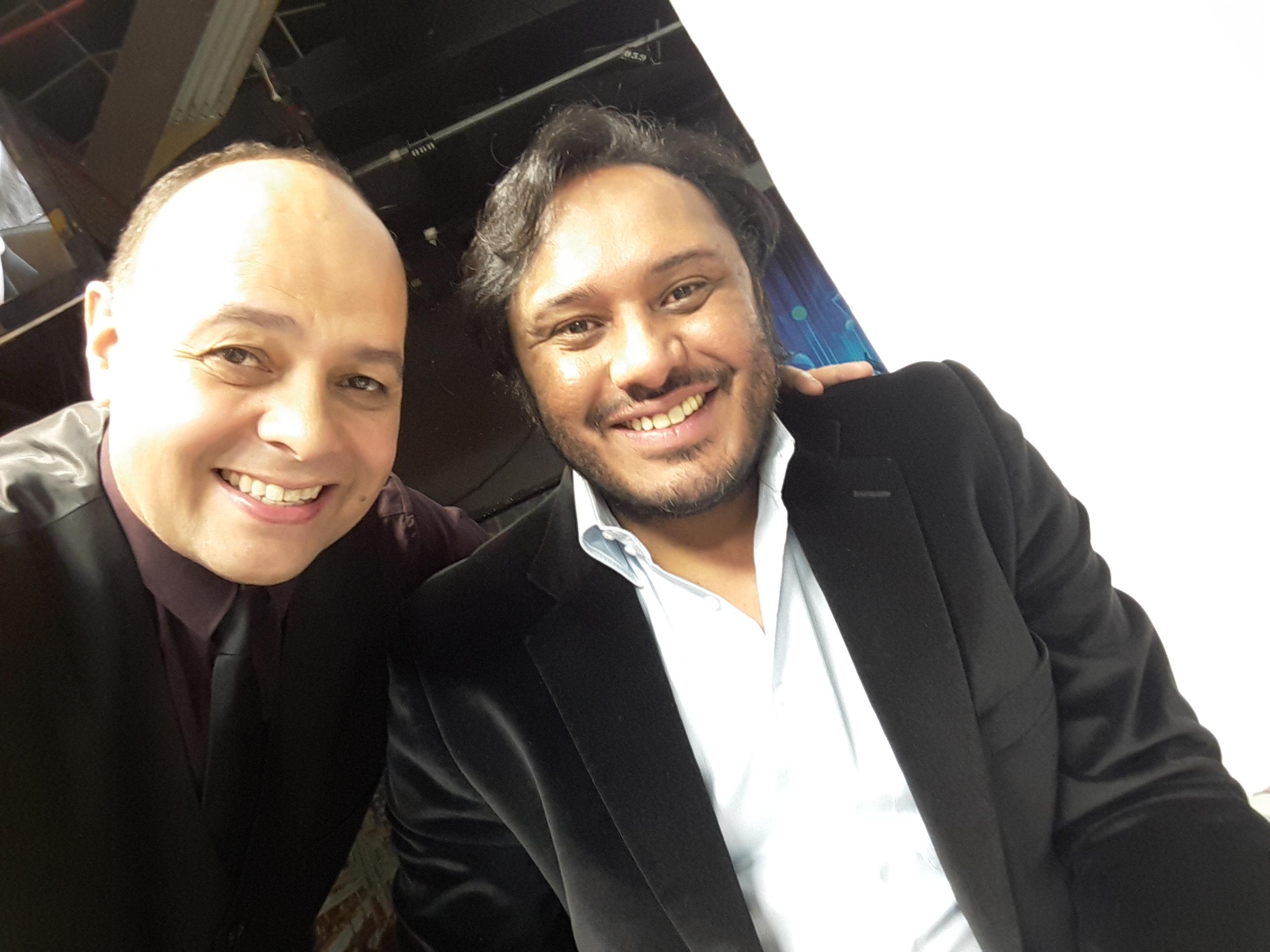 David Marça e Rinaldo Viana