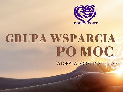 Grupa wsparcia - PO MOC