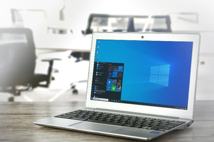 Computer portatile con il sistema operativo Windows