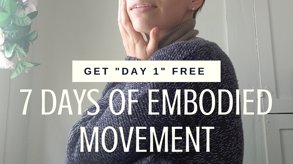 Preview Audio Book: 7 Days of Embodied Movement