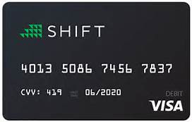 SHIFT (BITCOIN VISA)