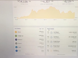 Coinbase showing good signs or is this fake...