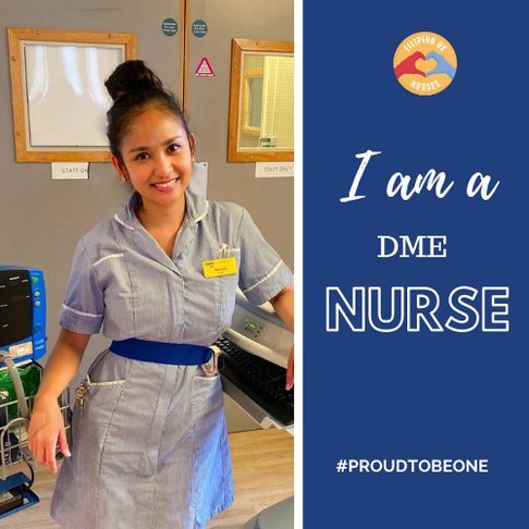 My Story as a DME Nurse (Department of Medicine for the Elderly)