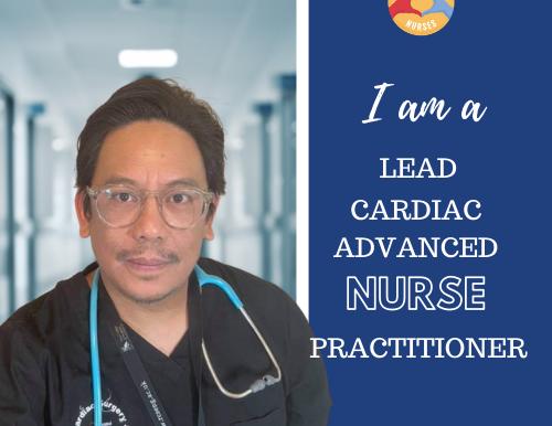 My Story as a Lead Cardiac Advanced Nurse Practitioner