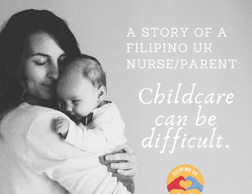 'Childcare can be difficult': a Filipino UK nurse's story