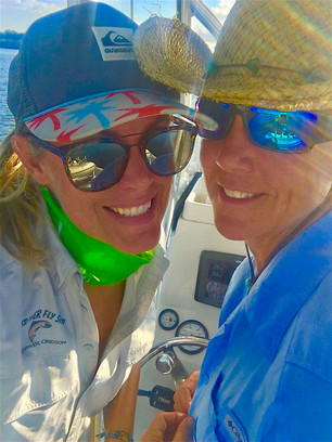 Customers in Florida sporting the Sunriver Fly Shop apparel!