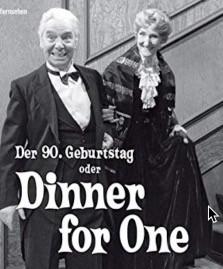 Dinner for One. Das Menü.