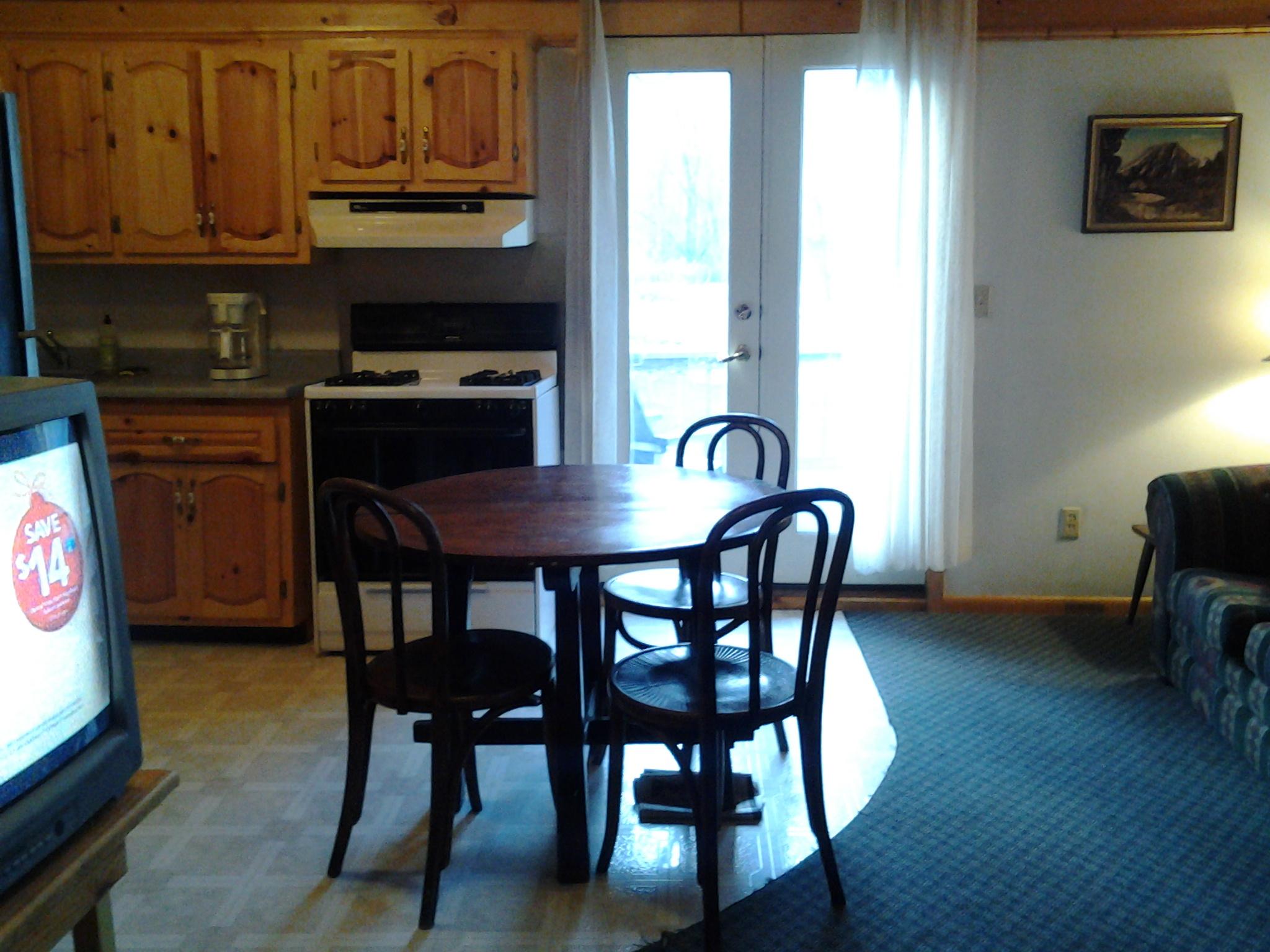 Kitchen area in Catskills Condo