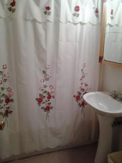 Bathroom in Catskills Cabin