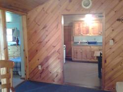 Rustic Natural Wood Cabin Lodging