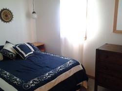 Bedroom of Catskills Cabin Rental