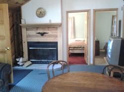 Catskills Cabin Fireplace
