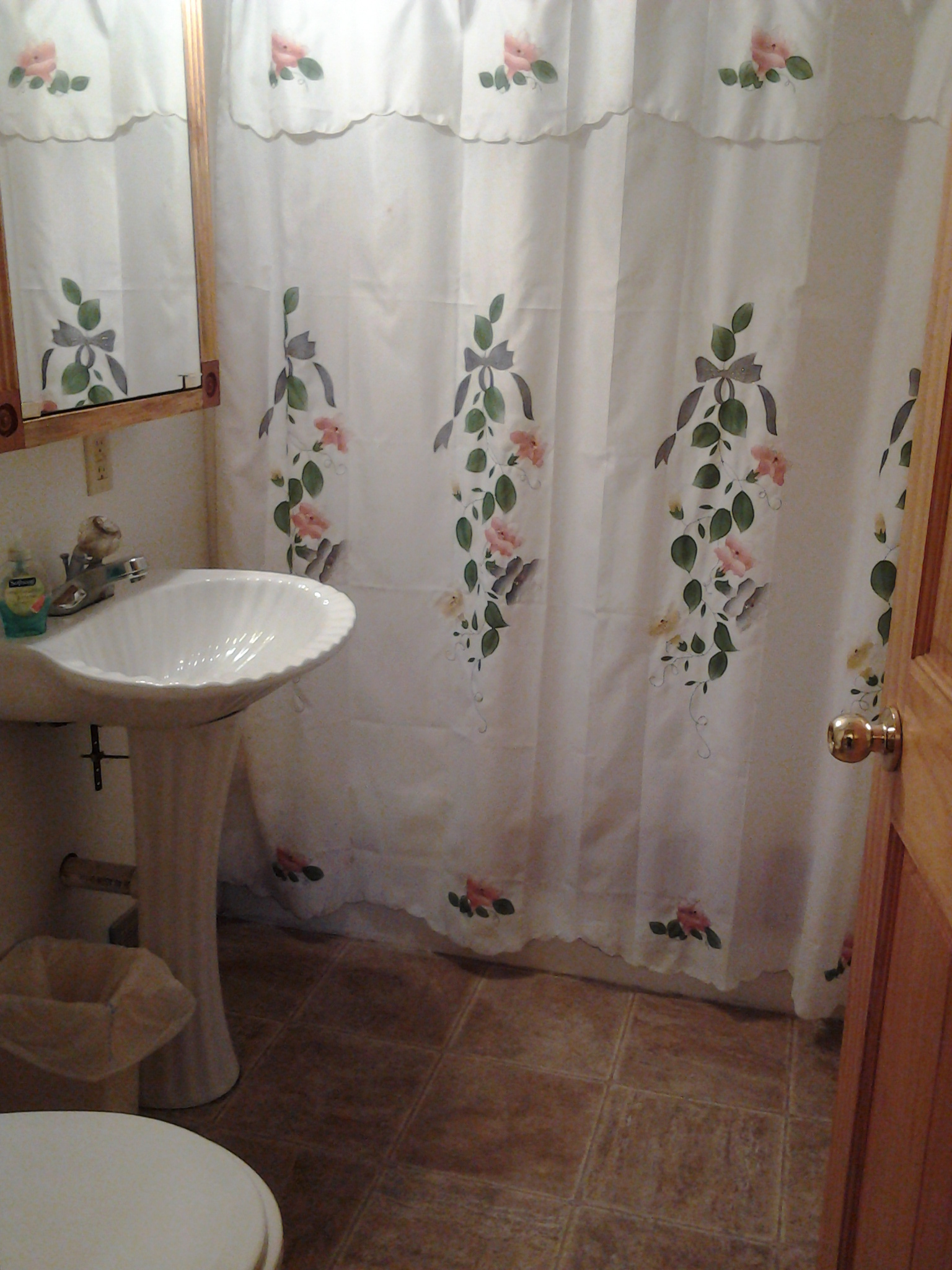 Bathroom in Cabin 3 rental