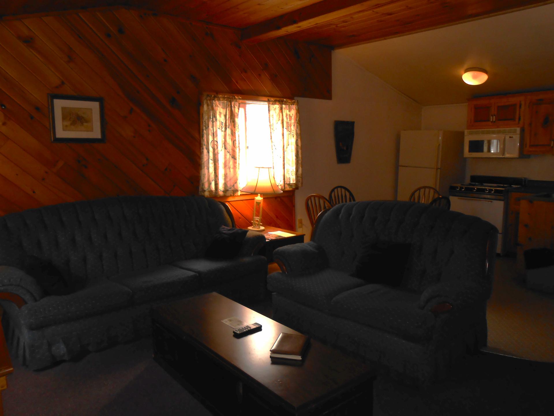 Interior Cabin 4 Two Bedroom Rental