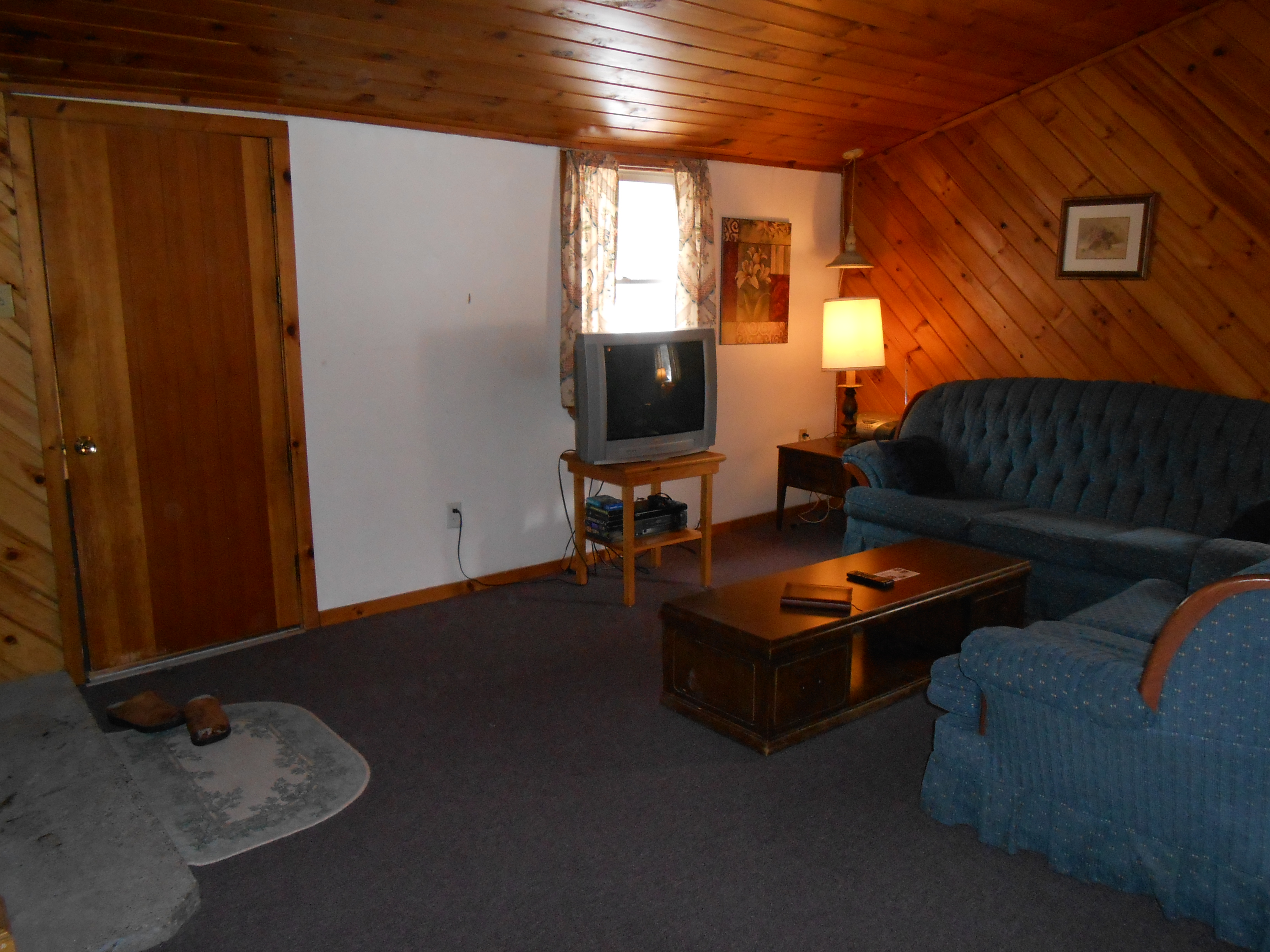 Living Room in Catskills Cabin