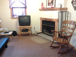Living Room of Big Indian, NY cabin