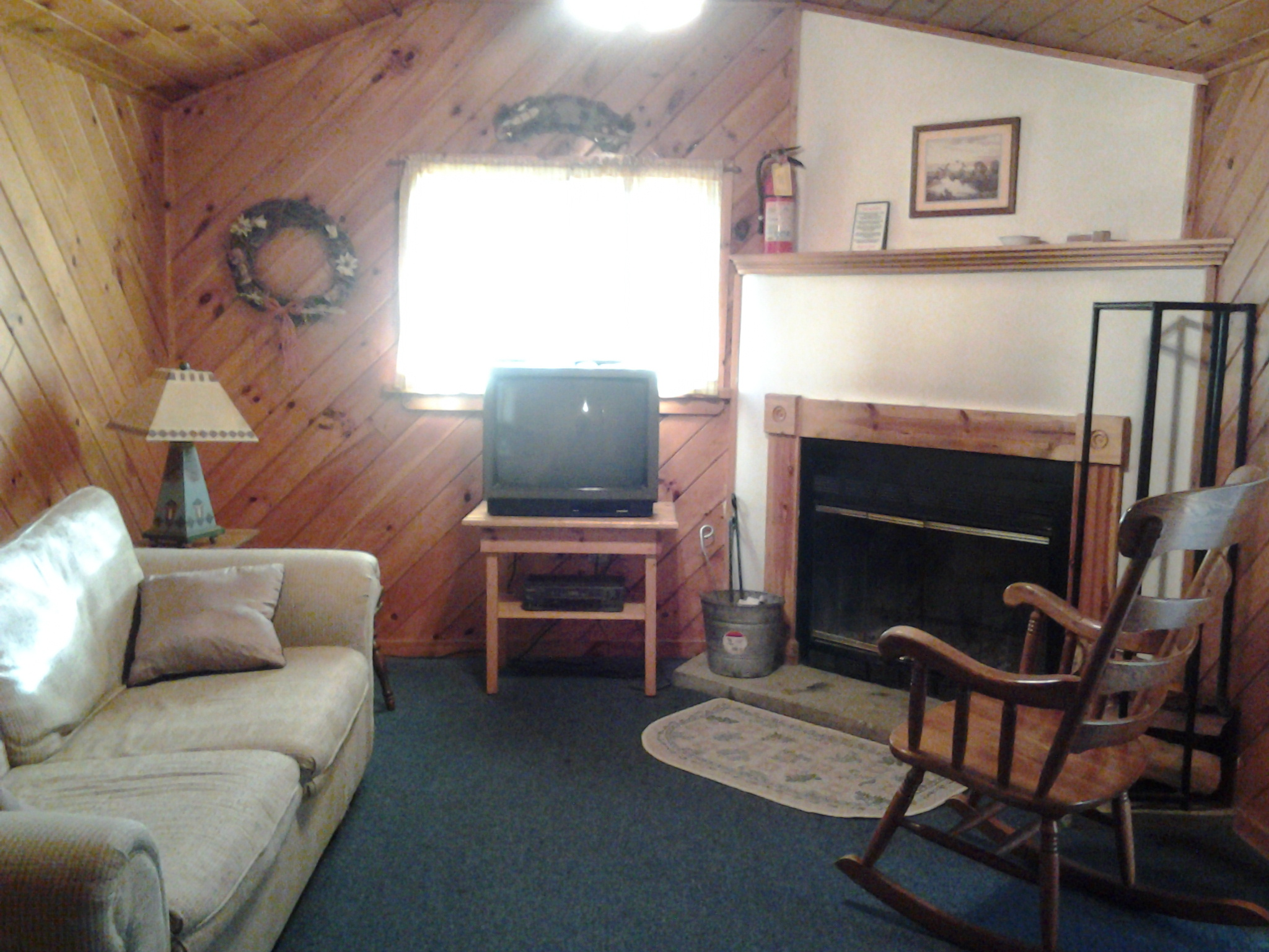 Cabin 2 Living room at Cold Spring