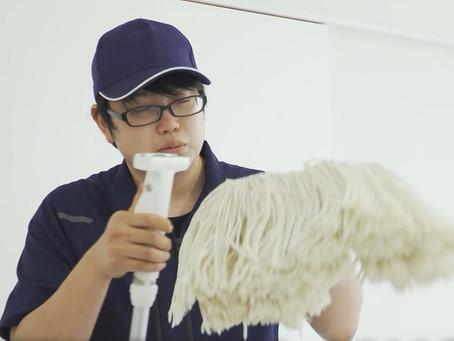 ビルクリーニング技能競技大会    木嶋辰之介選手、全国へ!
