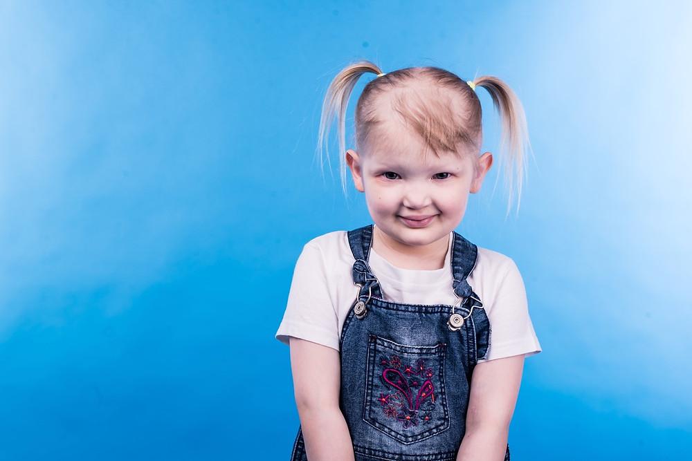 Лиза Леонова, 4 года.