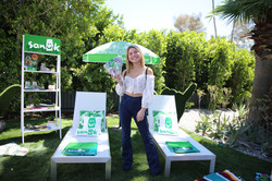 Actress Bella Shepard with Sanuk Shoes