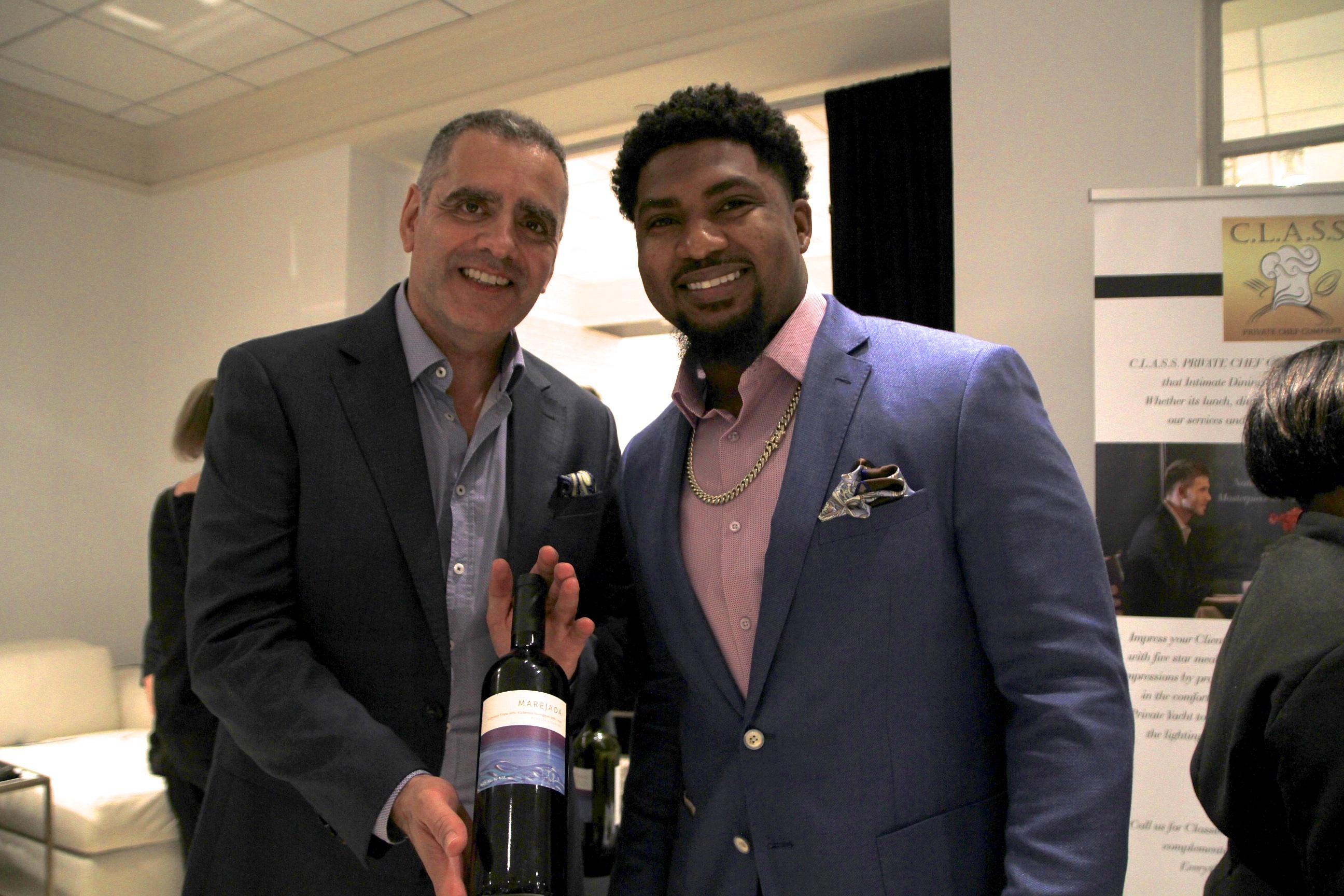 Spencer Ware wine 1