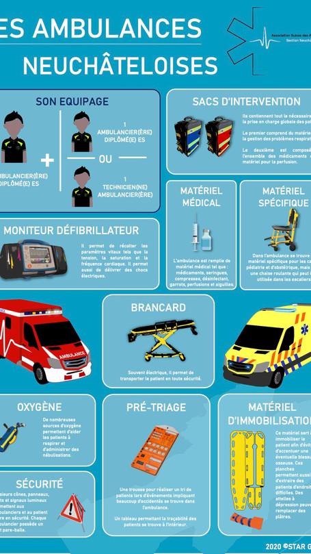 Les ambulances Neuchâteloises