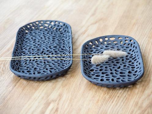 EOS   Textured ceramic tray