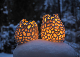 AURORA candle holders