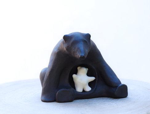 ANIMA polar bear | Polar bear sculpture
