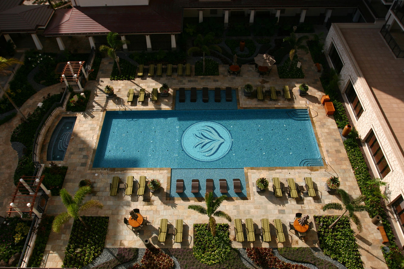 Beach Villas Heated Lap Pool