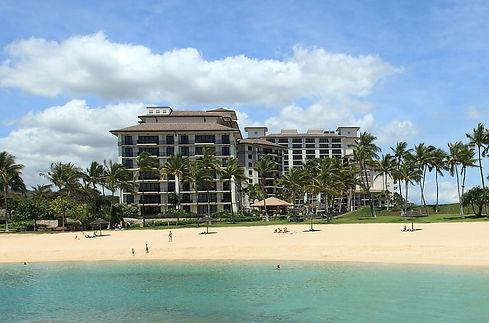 Beachfront Location