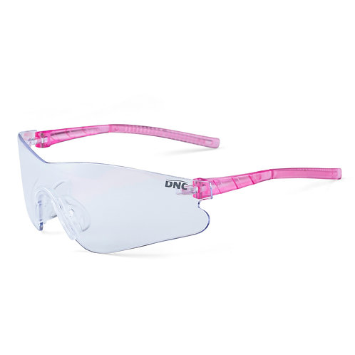 PINK LadyHawk Safety Glasses CLEAR