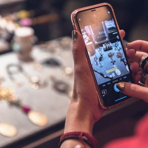 Presentando en Madrid a prensa de moda y bloggers la nueva colección de bisutería Émolo