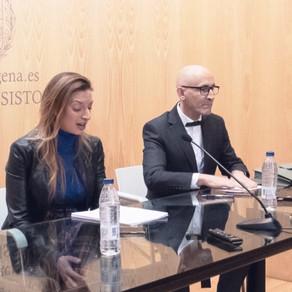 Modesto Lomba inaugura la jornada sobre comercio en el Ayuntamiento de Cartagena
