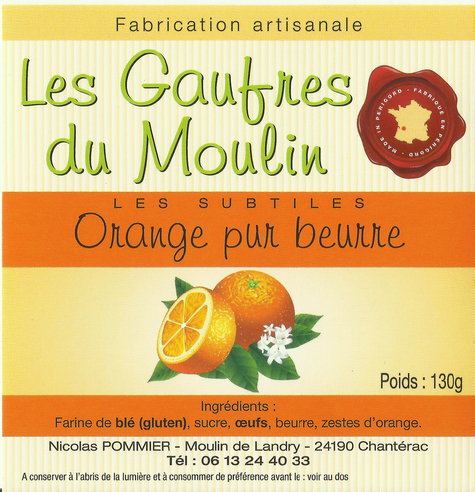 gaufre-orange-moulin-huile-perigord-dord