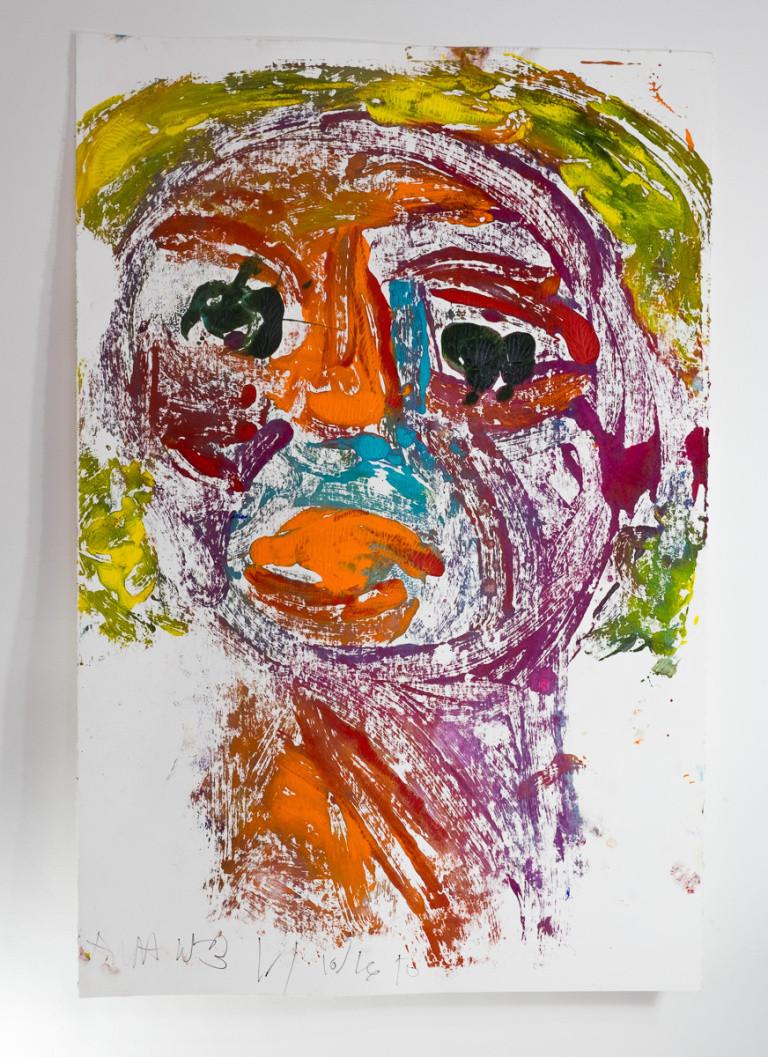 Untitled Self Portrait #2