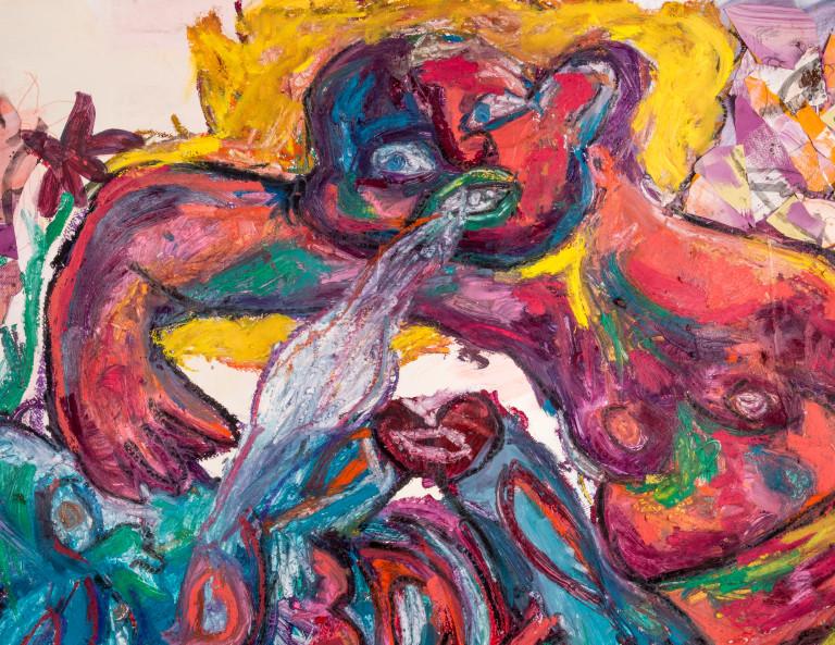 La Loba Dances Life (detail)