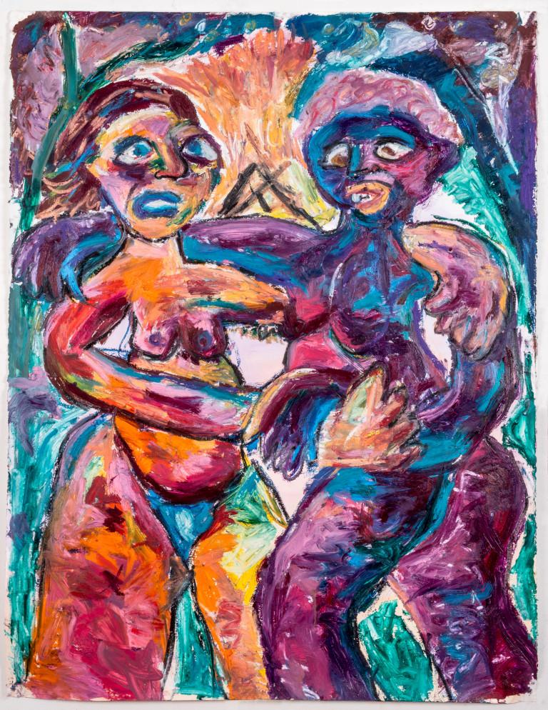Dinah and Persephone Dances the Tango