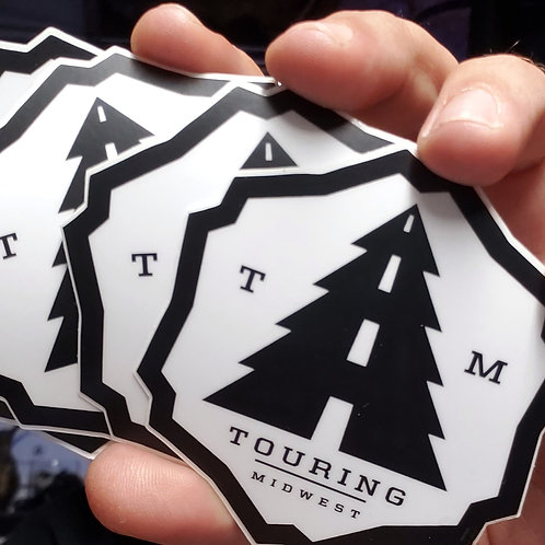 Touring Midwest Sticker