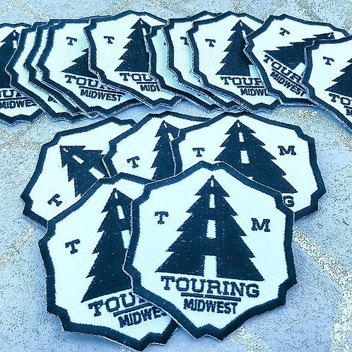 Touring Midwest 3 inch Patch