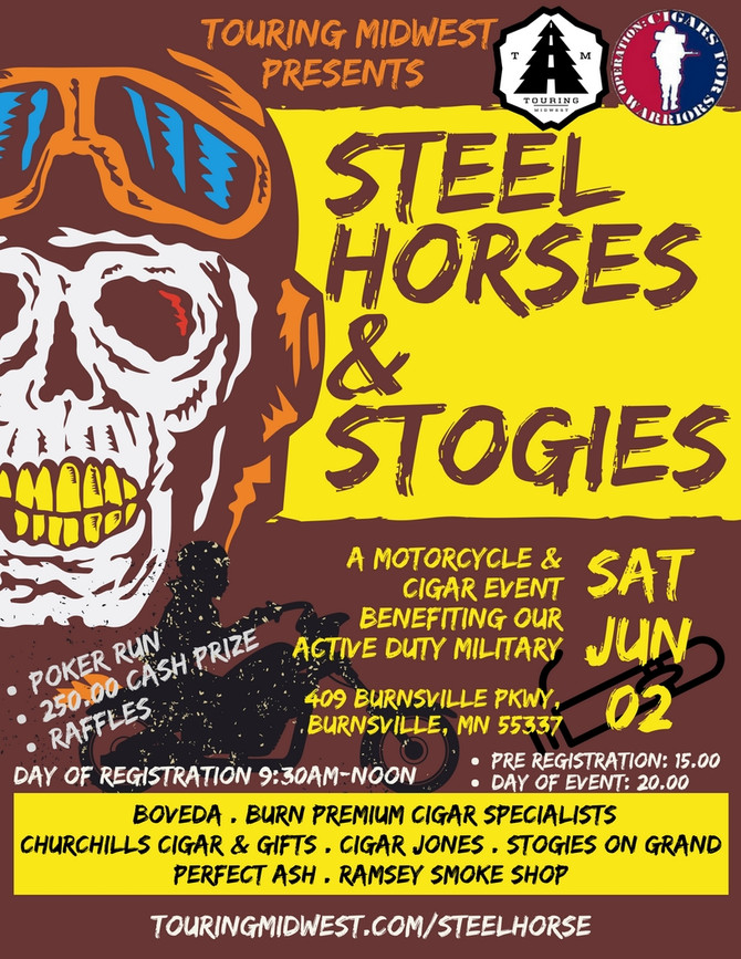 Steel Horses and Stogies | June 2nd