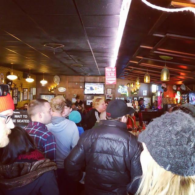 Instagram - Matt's bar  #minneapolis #Minnesota #jucylucy #waitinginline #matts