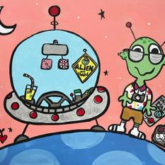 Tacky Alien Tourist