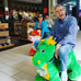 Riding Critters in the Mall