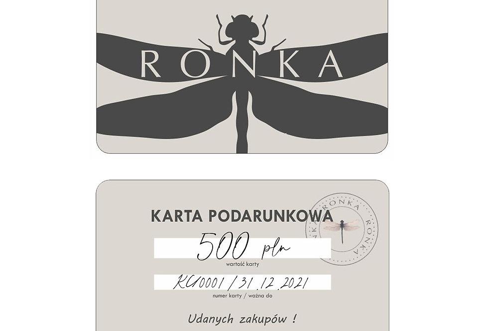 KARTA PODARUNKOWA