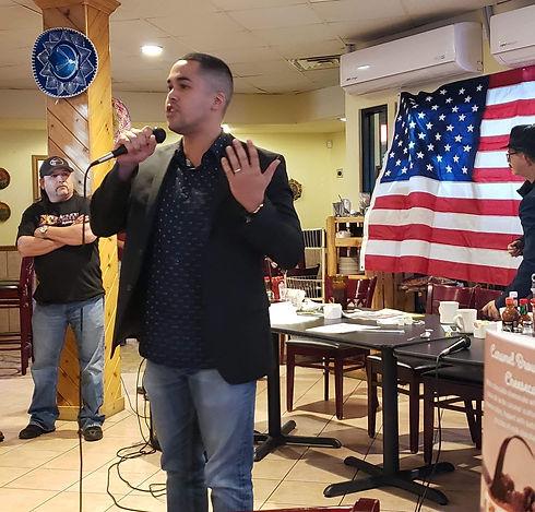 Fernando Peralta Speaking