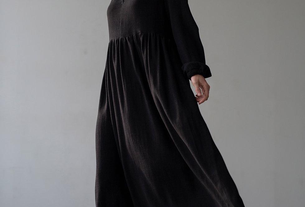 sukienka BLACK SALVA