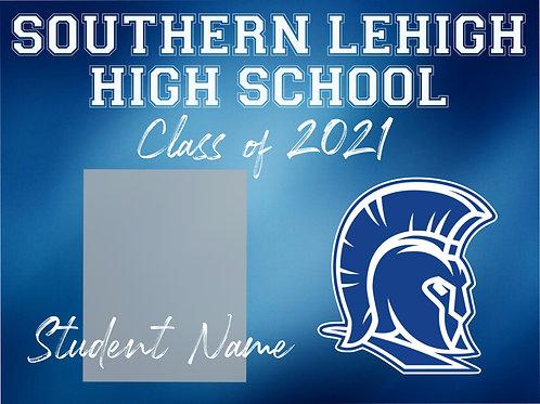 Southern Lehigh 2021 Senior *Custom Photo* Yard Sign
