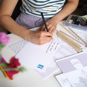 Postcard Colour Club